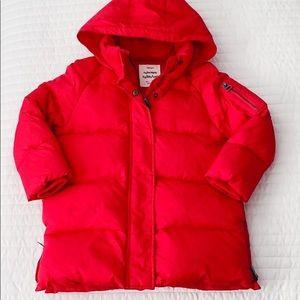 Zara Girls Hooded Puffer Coat